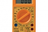 Hand-held multimeter.